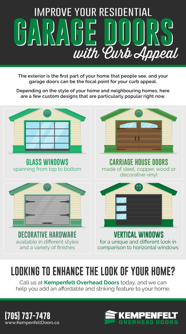 Improve Curb Appeal with New Residential Garage Doors